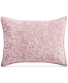 CLOSEOUT! Velvet Flourish Quilted Standard Sham, Created for Macy's