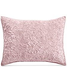 Velvet Flourish Quilted Standard Sham, Created for Macy's