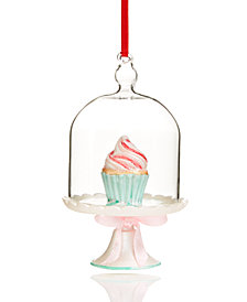 Holiday Lane Cupcake Dome Ornament, Created for Macy's
