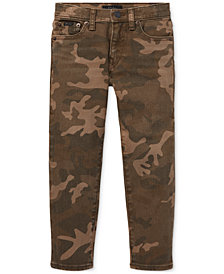 Polo Ralph Lauren Little Boys Sullivan Slim Camouflage Jeans