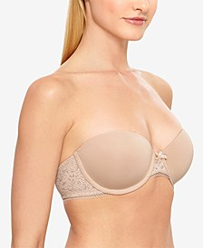 Modern Method Strapless Picot-Trimmed Bra 954217