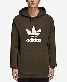 adidas Men's Treifoil French Terry Hoodie