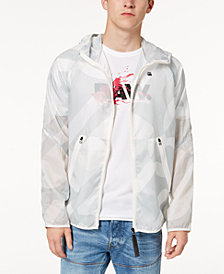 G-Star RAW Men's Windbreaker Jacket with Detachable Gym Bag