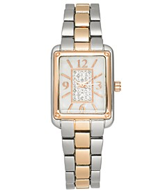 Women's Two-Tone Bracelet Watch 24mm, Created for Macy's