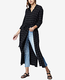 Sanctuary Jess Cotton Maxi Shirtdress