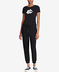 Lauren Ralph Lauren Petite French Terry Jogger Pants