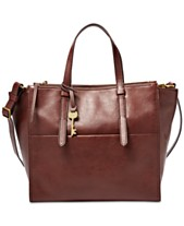 935bcadb91 Fossil Campbell Leather Tote