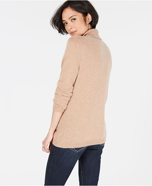 a1a952a3815 Charter Club Pure Cashmere Turtleneck Sweater in Regular   Petite Sizes