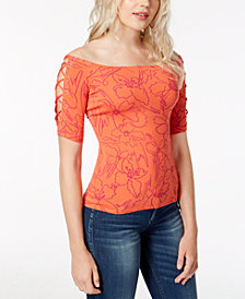 GUESS Catrina Off-The-Shoulder Top