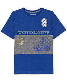 Nintendo Big Boys Mario Kart Graphic-Print T-Shirt