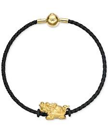 Chow Tai Fook Dragon Braided Bracelet in 24k Gold