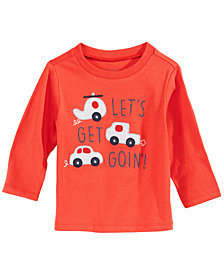 First Impressions Toddler Boys Cars-Print Cotton T-Shirt, Created for Macy's