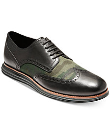 Cole Haan Men's Original Grand Shortwing Oxfords, Created for Macy's