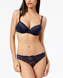 Calvin Klein Bird Lace Lift Demi Bra QF4631