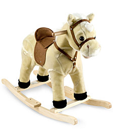 Trademark Global Happy Trails Li'l Henry the Rocking Horse