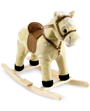 Trademark Global Happy Trails Lil Henry the Rocking Horse