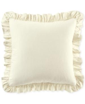 Martha Stewart Collection Luxury Ruffle Cotton European Sham Created for Macys