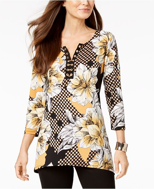 Bloom Created Embellished JM Retro Tunic Collection for Macy's ng06687qw