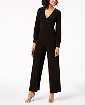 d2d35b5e337f Long Sleeve Jumpsuits   Rompers for Women - Macy s
