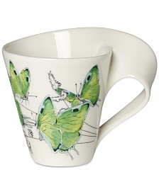 Villeroy & Boch New Wave Caffé Butterflies of the World Mug