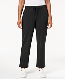 Drawstring Straight-Leg Pants, Created for Macy's