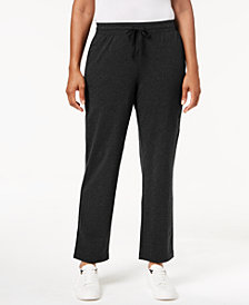 Karen Scott Mid-Rise Drawstring Sweatpants, Created for Macy's