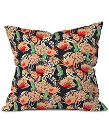Deny Designs Holli Zollinger Boheme Butterfly Throw Pillow