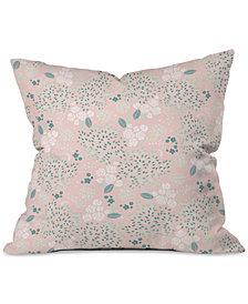 Deny Designs Iveta Abolina Camellia Garden III Throw Pillow