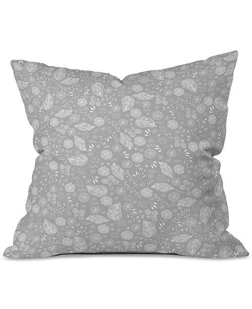 Deny Designs Iveta Abolina Crystalline Water Throw Pillow