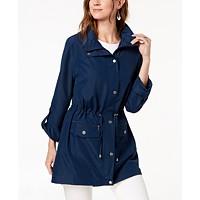 Style & Co Hooded Anorak Women's Jacket