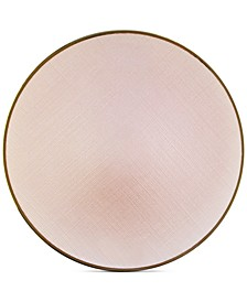 Jay Import Laurel Pink Charger Plate