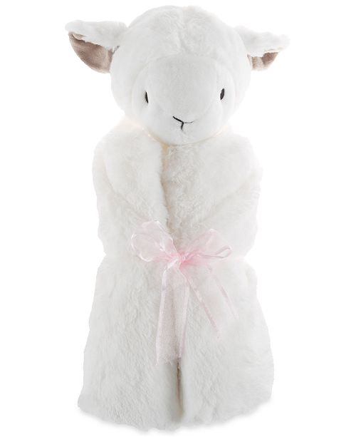 Trademark Global Happy Trails Baby Lamb Stuffed Animal Security