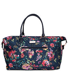 Jessica Simpson French Floral Duffel Bag