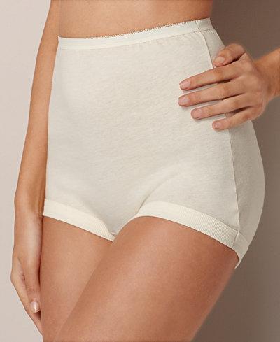 Vanity Fair Plus Size Cotton 3 Pack Brief 15867 Lingerie