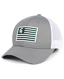 buy online dc93b 6ac85 Top of the World Michigan State Spartans Brave Trucker Snapback Cap