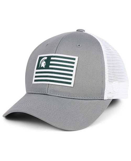 official photos bb2cd 42f53 ... Top of the World Michigan State Spartans Brave Trucker Snapback Cap ...
