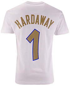 Mitchell & Ness Men's Penny Hardaway Orlando Magic Gold Collection Name and Number T-Shirt