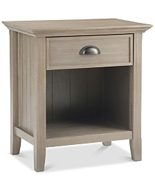 Avery Bedside Table, Quick Ship