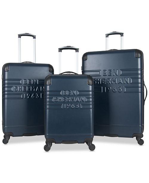 Ben Sherman Ripon 3-Pc. Hardside Wheeled Luggage Set