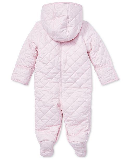 eb20719dd Polo Ralph Lauren Ralph Lauren Baby Girls 9M Quilted Barn Bunting ...