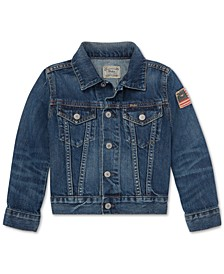 폴로 랄프로렌 남아용 자켓 Polo Ralph Lauren Little Boys Cotton Denim Trucker Jacket,Gordon Wash