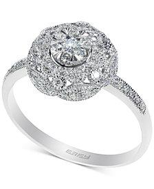 EFFY® Diamond Cluster Ring (1/3 ct. t.w.) in 14k White Gold