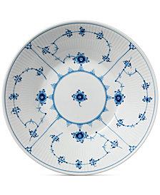 Royal Copenhagen Blue Fluted Plain Pasta Bowl