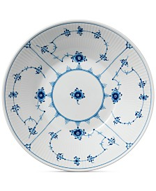 Royal Copenhagen Blue Fluted Plain Pasta Bowl