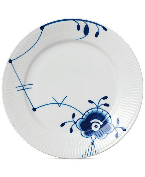 Royal Copenhagen Blue Fluted Mega Salad Plate #6