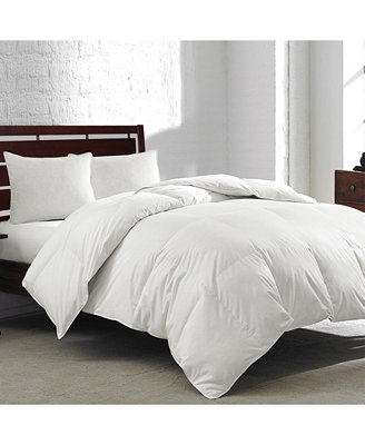 White Goose Feather & Down 240 Thread Count King Comforter by Royal Luxe