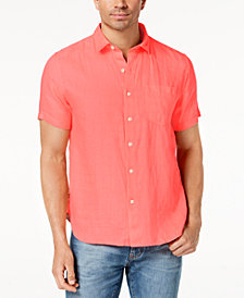 Tommy Bahama Men's Costa Sera Printed Linen Shirt