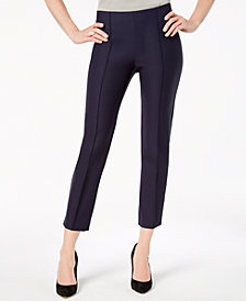 Love Scarlett Petite Front-Seam Ankle Pants