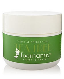 Tea Tree Foot Cream, 8-oz.
