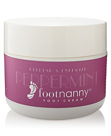 Peppermint Foot Cream, 8-oz.